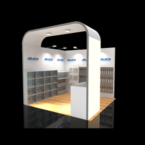 Modular Light Weight Exhibition Booth Material In Aluminum