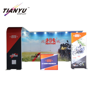 10x20ft 3x6m Modern Reusable Portable America Free Hot Standard Booth Show Partition For Exhibition Stand