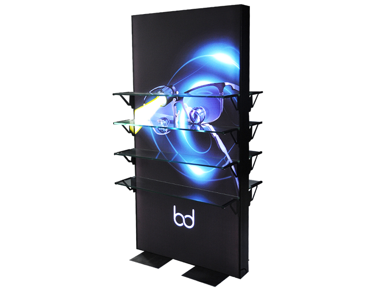 Portable Trade Show Stand Tension Fabric Event Backdrop Shell Scheme Exhibition Booth Display Wall