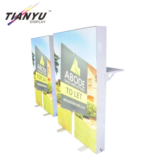 Custom 10FT Tension Fabric Trade Show Straight Display Booth