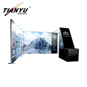 10FT Portable Reusable Trade Show Standard china exhibition booth design