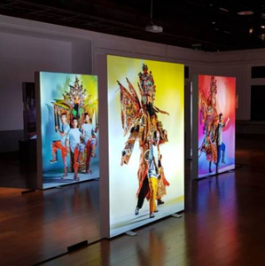 Jiangmen Advertising Display LED Backlight Aluminum Frame Chinese Beijing Opera Display Light Box