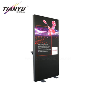 Aluminium Textile Profiles Only backlit fabric lightbox Tradeshow Booth