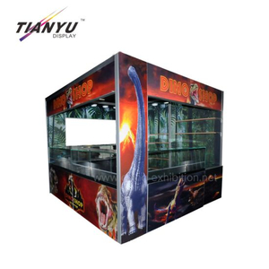custom heavy duty 3X3m Exhibition Booth Stands for trade show booths 10x10