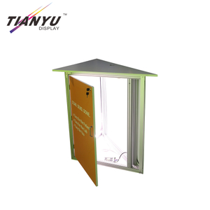 Portable New Product Ideas Aluminum Textile Fabric Light Box